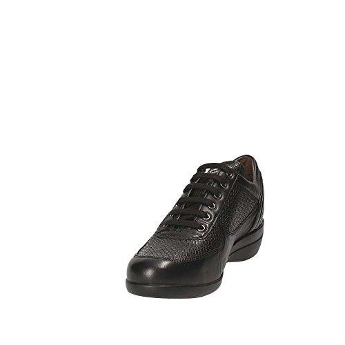 misu - Zapatillas de danza para mujer Multicolor negro/rojo, color Multicolor, talla 39 1/3
