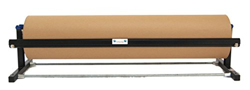 Kraft Paper Dispenser - Horizontal - with Smooth Blade - Fits 48