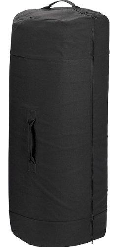 Army Universe Black Giant Side Zipper Canvas Heavy Duty Military ... fe4de334aae