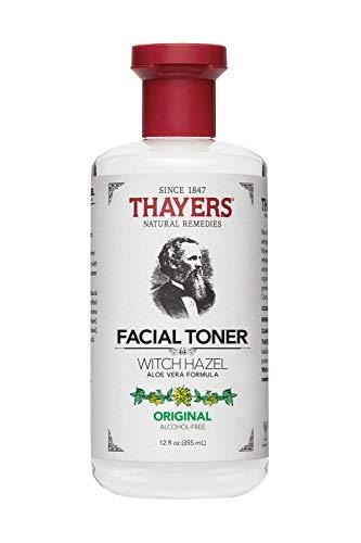 Thayers Alcohol-Free Original Witch Hazel Facial Toner with Aloe Vera Formula , clear , 12 oz