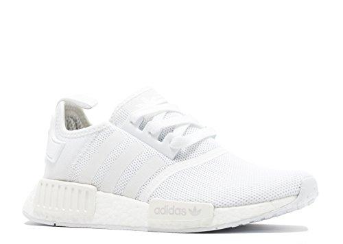 NMD adidas Uomo da r1 White White Scarpe Fitness PK dq6r6xYw