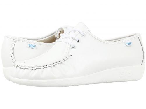 SAS(サス) レディース 女性用 シューズ 靴 オックスフォード 紳士靴 通勤靴 Siesta - White [並行輸入品] B07BQHDRY6 9.5 M - Medium (B)