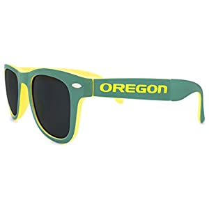 NCAA Oregon Ducks Game Day Sunglasses with Microfiber Carrying Case/Pouch - Fully Folding