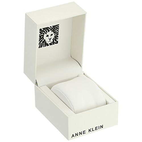Anne Klein Women's AK/1362 Diamond-Accented Bracelet Watch