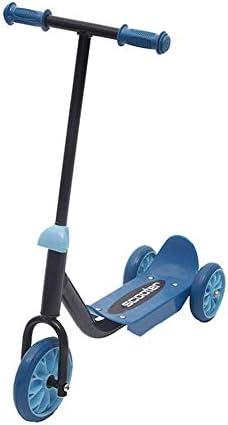 折りたたみ式キックスクーター、三輪スクーターアジャスタブル子供三・イン・ワン滑りやすい車スポーツフィットネススクーターキッズウォーカー 高さ調節可能 (Color : Blue)