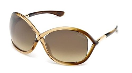 Tom Ford Sunglasses - Whitney / Frame: Champagne Fade Lens: Brown - Tom Ford Whitney