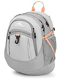 High Sierra Fatboy Backpack, Silver/Ash/Sand Pink