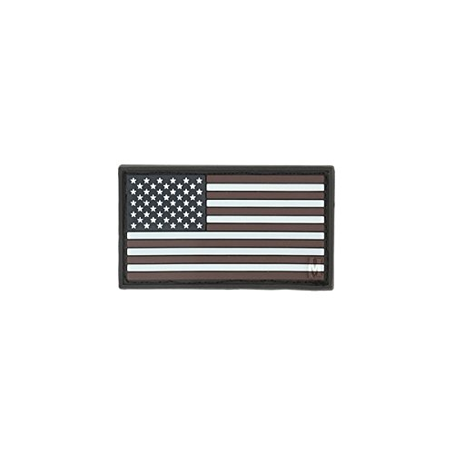 Maxpedition Gear Small USA Flag Patch, Glow, 2 x 1-Inch