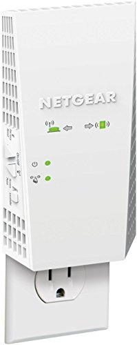 NETGEAR Wi-Fi Mesh Range Extender EX6400 - Coverage up to 1800 sq.ft. and 30 Devices with AC1900 Dual Band Wireless Signal Booster & Repeater (up to 1900Mbps Speed), Plus Mesh Smart Roaming