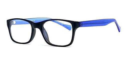 Soho 122 in Matte Black Designer Reading Glass Frames ; Demo - Eyeglass Frames Soho