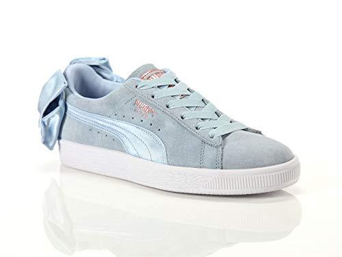 Donna Puma Suede Blu Sneakers Bow Suede H8dqf8w