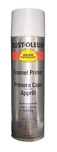 Rust-Oleum V2182838 High Performance V2100 System Rust Preventive Enamel Spray Primer,  20 fl. oz. container, 15 oz. fill,, Gray Primer, - Professional Performance High Enamel