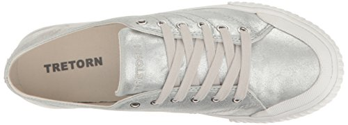 Sneaker Vintage White Tretorn MARLEY6 Women's Silver TqqCg