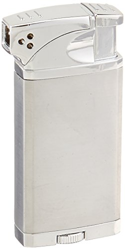 Visol Coppia All-in-One Cigar and Pipe Lighter, Chrome