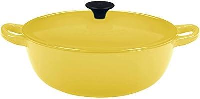 Le Creuset Enameled Cast-Iron 7-1/2-Quart Bouillabaisse Pot, Soleil