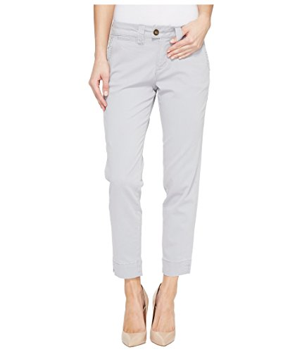 Jag Jeans Women's Creston Ankle Crop in Bay Twill Shadow 10 (Perfect Stretch Twill Cropped Pants)