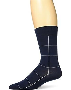 Men's Window Pane Sock