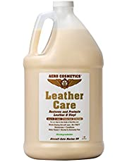Aero Cosmetics Leather Care Conditioner Uv Protectant Aircraft Grade Leather Care Better Than Automotive Products. Excellent for Furniture Cars Seats & Rv Does Not Leave Dirt Attracting Residue