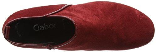 Gabor Shoes Basic, Botines para Mujer Rojo (Opera/Cherry 35)