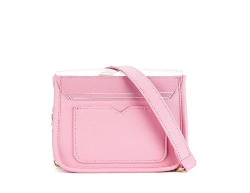 Bag Pink Girl Shoulder Transparent Bag Summer Shoulder Bag Chain Mini zfv8xq7wn
