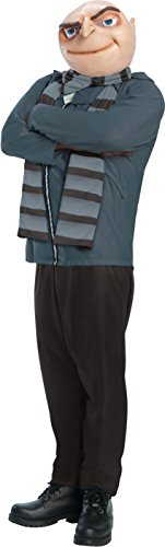 Rubie's Despicable Me 2, Gru and Mask, Multicolor, (Despicable Me Gru Costume Mask)