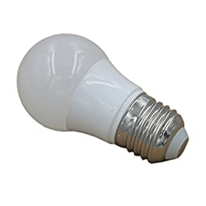 JOYLIT Pack 4Pcs LED Bulbs E27 Light Bulbs Warm white 3000-3500K A45 Globe Blub 3W Equivalent to Traditional 20W Bulb