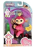 Fingerlings Baby Monkey Bella Pink Includes Bonus Stand (Small Image)