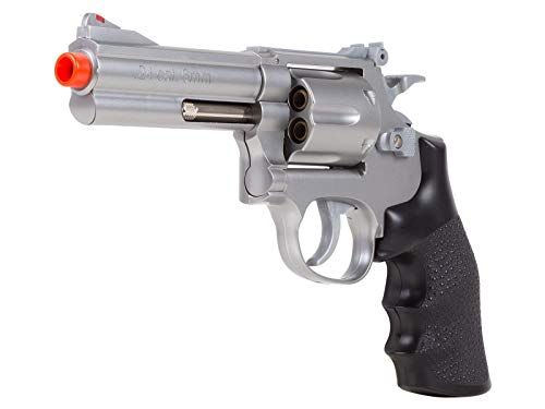 TSD Sports UA933S 4 Inch Spring Powered Airsoft Revolver (Silver)
