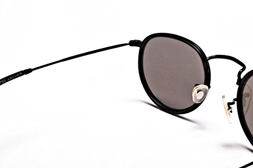 Screwdriver Case Shades amp; ARCHER Noir Lennon Mens Sunglasses Collection 2018 by Polarised Protective 80's Mirrored UV400 John Sunglasses of Best Retro TOM Womens with Round qH4TnwEO4