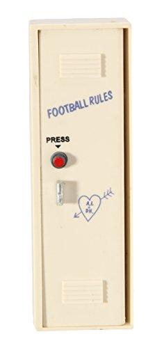 Acme Rare Football Locker Refrigerator Sound Magnet (Football Refrigerator)