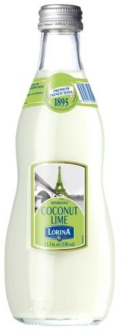 Lorina Coconut Lime Sparkling 330ml / 11.1 Ounce Bottles (Pack of 12)