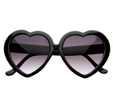 con 6cm Corazón Forma Lady de Gafas de negro Playa 14 New para Rojo Fendii Sol SKX5OqUKw