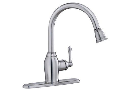 EZ-FLO 10301 Kitchen Faucet Pull-Out Spray - Metris Single Handle
