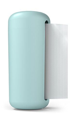 """Siliconezone Karim Collection 6.3"""" Silicone Paper Towel Holder, Blue"""