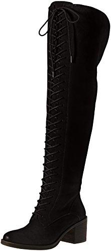 Lucky Women's LK-Riddick Riding Boot, Black, 8 M US by Lucky Brand