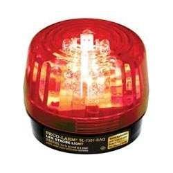 Seco-Larm Enforcer LED Strobe Light, Red Lens (SL-1301-BAQ/R)