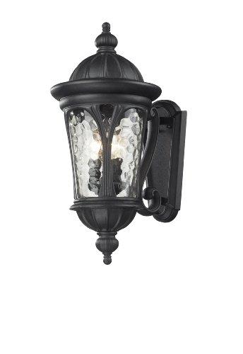 Black aluminium candelabra