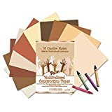 * Multicultural Construction Paper, 76 lbs., 12 x 18, Assorted, 50 Sheets/Pack *