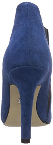 London Women's Buffalo Blue 1516 114 Kid Boots Short Length 24 Blau Blue Classic Lined Suede Cold fdqRwq5x
