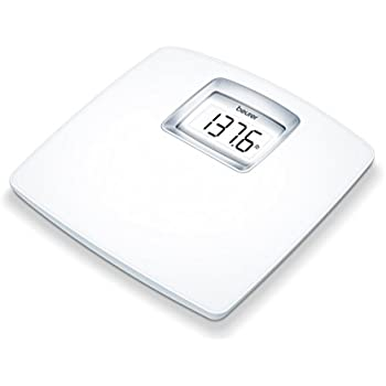 Amazon Com Beurer White Digital Bathroom Scale With Extra