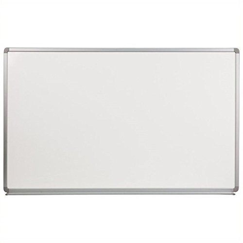 Scranton and Co 36'' x 60'' Porcelain Magnetic Marker Board in White