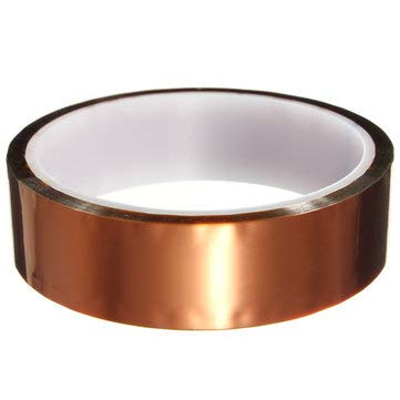 Dye Sublimation Coating - Polyimide Tape Heat Temperature Printing Soldering Resistant Sublimation Electronic - 1PCs