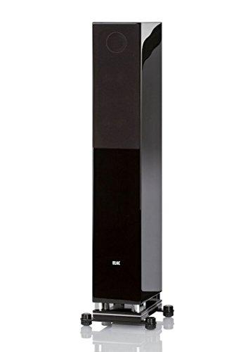 ELAC FS407 Floor Standing Home Speaker (Black)