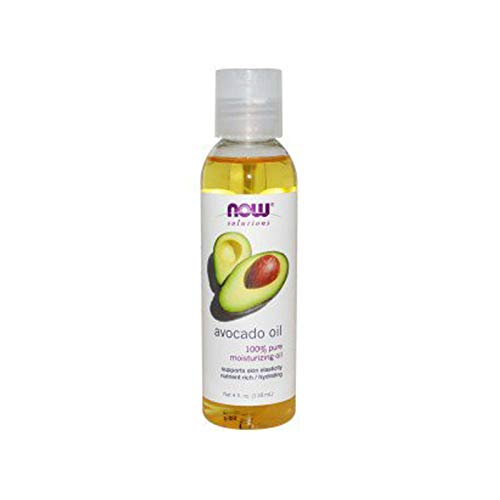 NOW Solutions, Avocado Oil, 100% Pure Moisturizing Oil, Nutrient Rich and Hydrating, 4-Ounce
