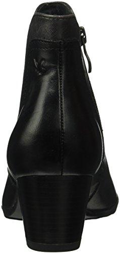 Caprice Women's Black Boots Ankle 25336 19 Black Comb qq1ra8wn