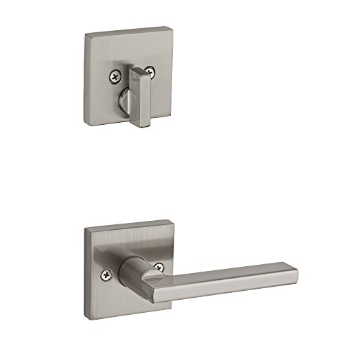 Kwikset 99710-002 Single Cylinder Interior Pack Only with Halifax Lever For Signature Series Low Profile Handle In Satin Nickel