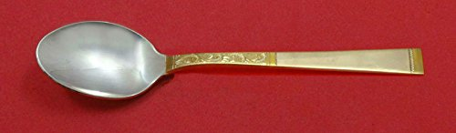 (Golden Scroll By Gorham Sterling Silver Infant Feeding Spoon 5 1/4