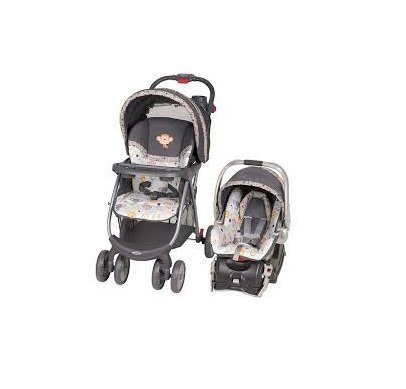 Baby Trend Envy Travel System with Flex-Loc Infant Car Seat Bobbleheads by Baby Trend by Baby Trend