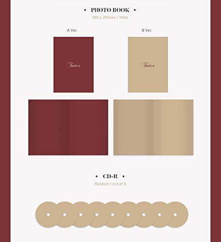 JYP Twice - The Year of Yes [A ver ] (3rd Special Album)  CD+Photobook+Photocards+Pre-Order Benefit+Folded Poster+Extra Photocards Set
