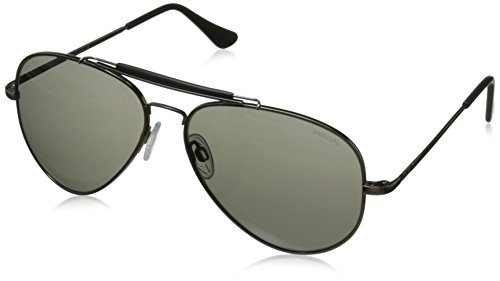 Randolph Sportsman SP7R441 Aviator Sunglasses, Gun Metal, 57 - Sunglasses Sportsman Randolph